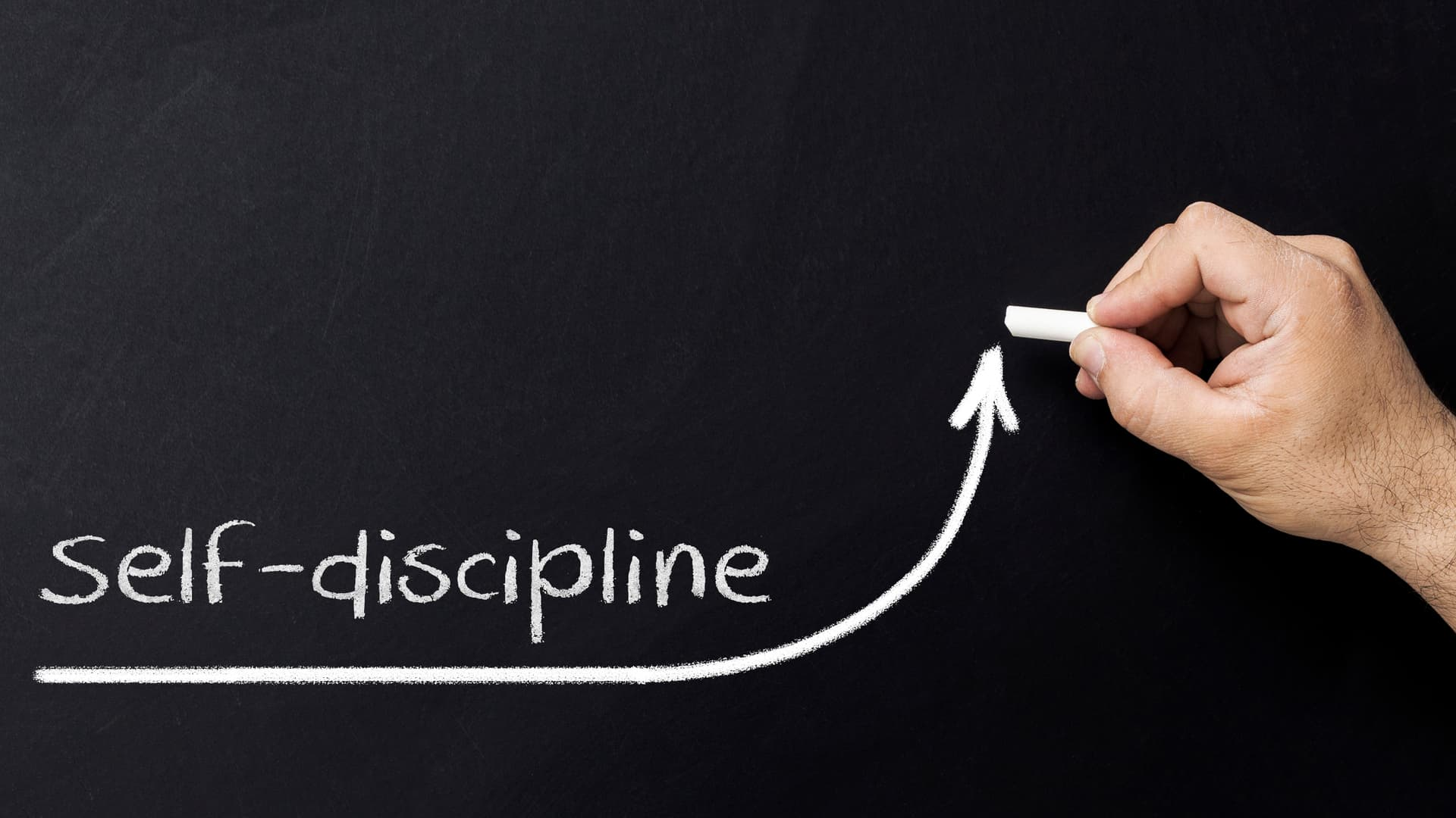 Self discipline concept