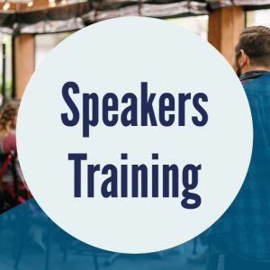 Speakers Training