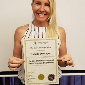 Nichola Davenport NLP Certificate